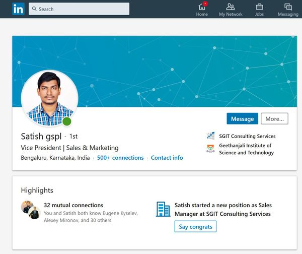 Indian companies are running aggressive AI chatbot attacks via LinkedIn